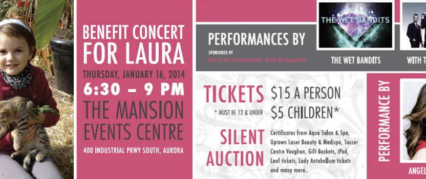 Benefit Concert for Laura – Jan 16th